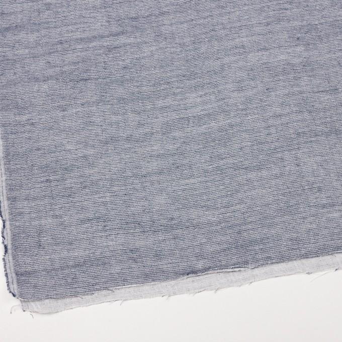 コットン×無地(ブルー)×ガーゼ&ジャガード_全3色 イメージ2