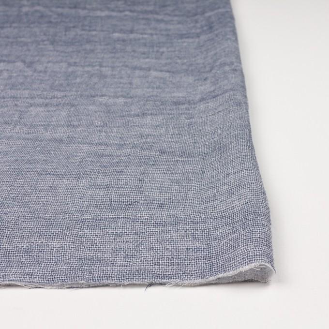 コットン×無地(ブルー)×ガーゼ&ジャガード_全3色 イメージ3