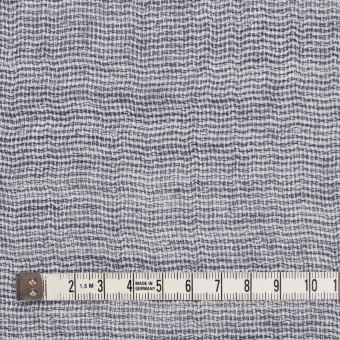 コットン×無地(ブルー)×ガーゼ&ジャガード_全3色 サムネイル4