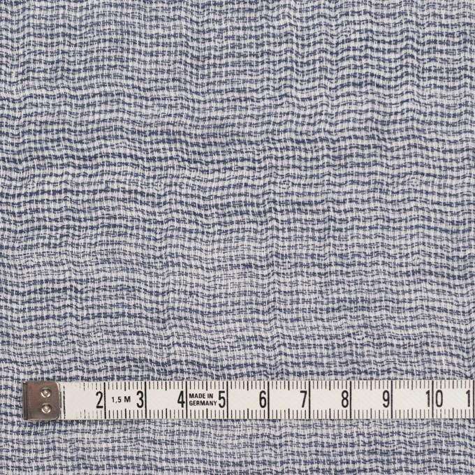 コットン×無地(ブルー)×ガーゼ&ジャガード_全3色 イメージ4