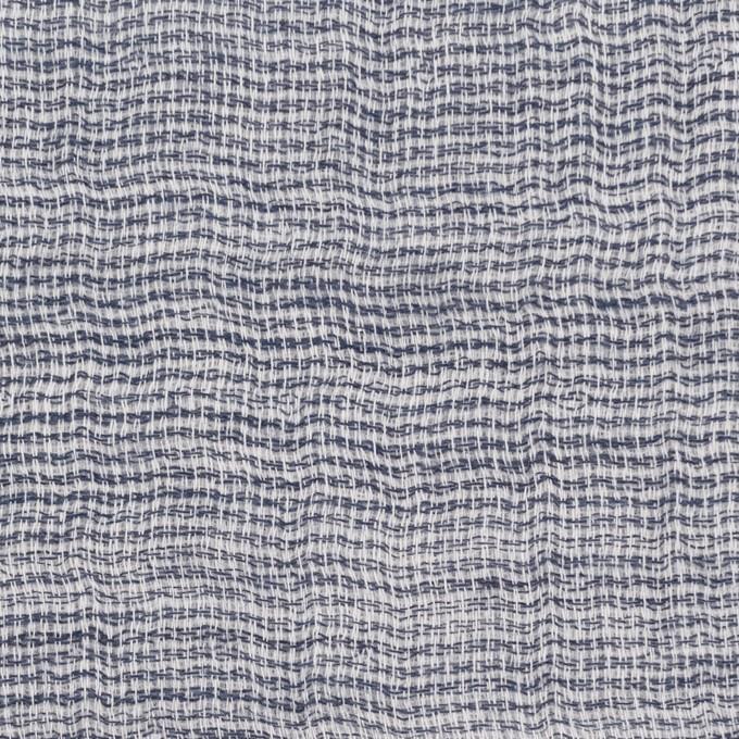 コットン×無地(ブルー)×ガーゼ&ジャガード_全3色 イメージ1