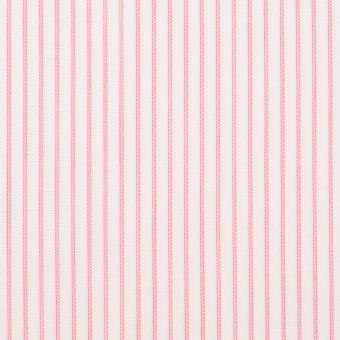 コットン×ストライプ(ピンク)×ボイル_全2色