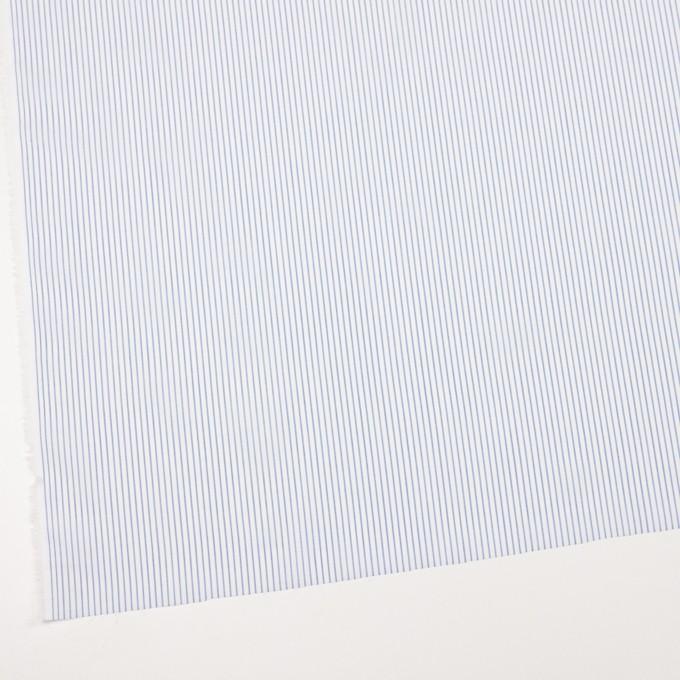 コットン×ストライプ(ブルー)×ボイル_全2色 イメージ2