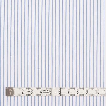 コットン×ストライプ(ブルー)×ボイル_全2色 サムネイル4