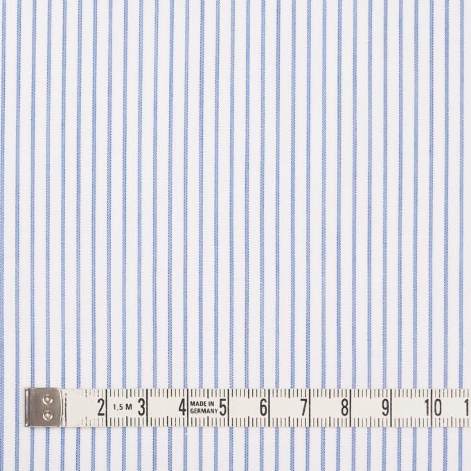 コットン×ストライプ(ブルー)×ボイル_全2色 イメージ4