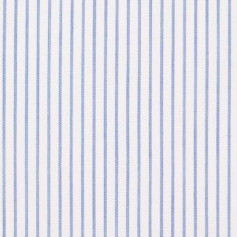 コットン×ストライプ(ブルー)×ボイル_全2色 サムネイル1