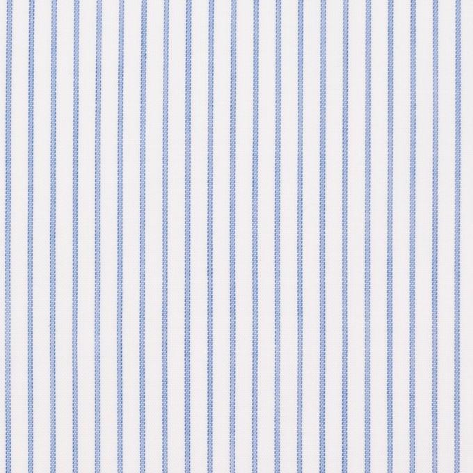 コットン×ストライプ(ブルー)×ボイル_全2色 イメージ1