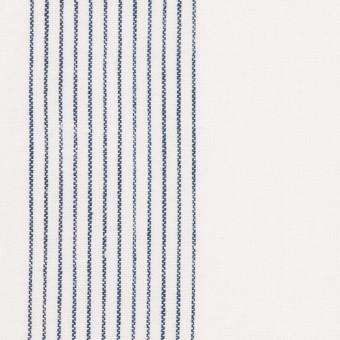 コットン&リネン×ストライプ(オフホワイト)×シーチング_全2色