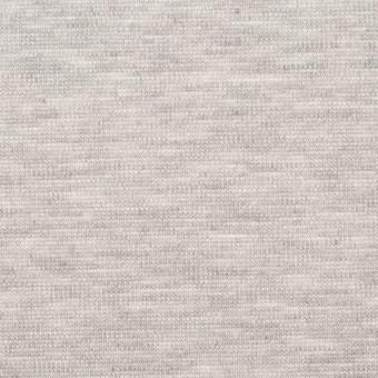 コットン&テンセル混×無地(シルバーグレー)×スムースニット