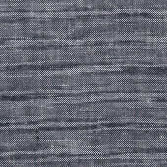 コットン&リネン×無地(ダークネイビー)×ダンガリー サムネイル1