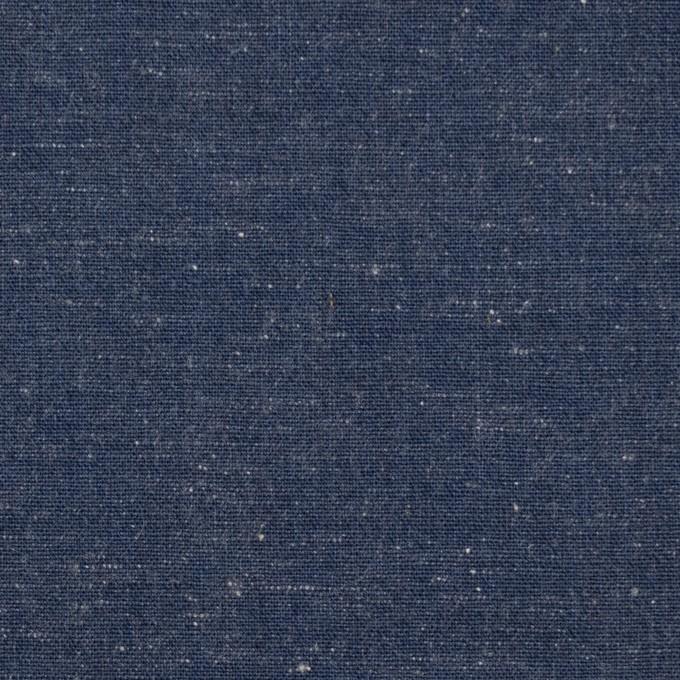 コットン×無地(アイアンブルー)×ダンガリー イメージ1