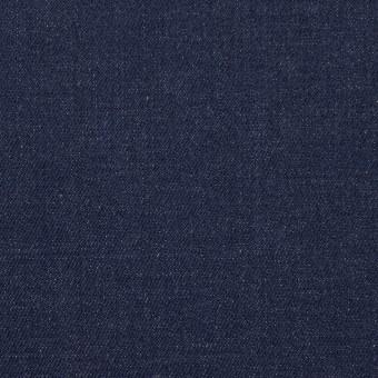 コットン&ポリウレタン×無地(インディゴ)×デニムストレッチ(9oz)