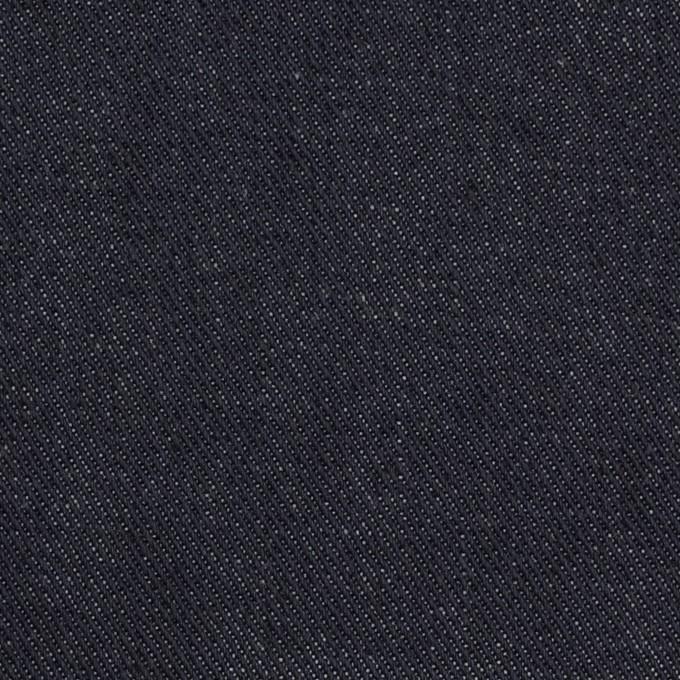 コットン×無地(インディゴ)×デニムストレッチ(13.5oz) イメージ1