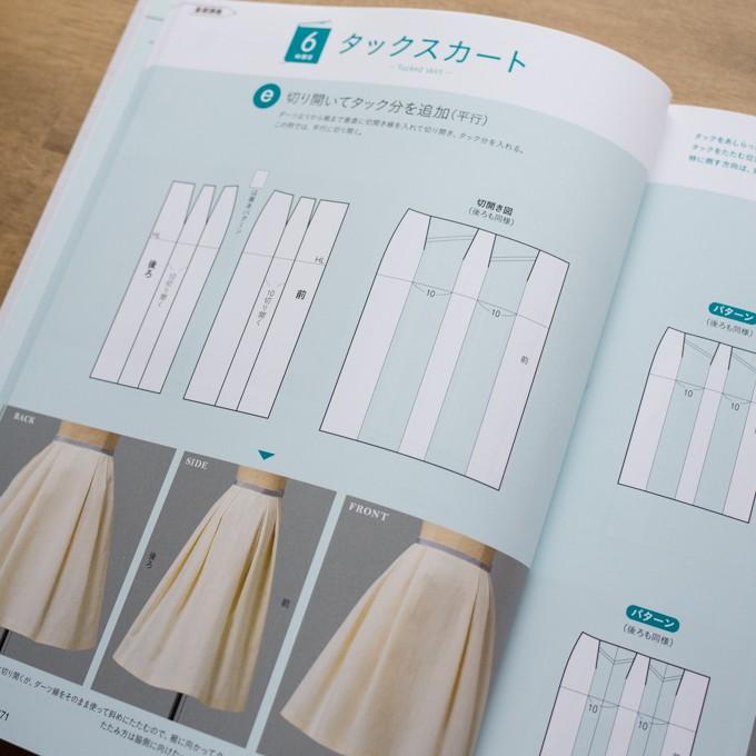 誌上・パターン塾 Vol.2スカート編(文化出版局編) イメージ4