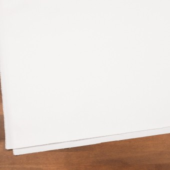 コットン&ポリウレタン×無地(ホワイト)×サテンストレッチ サムネイル2