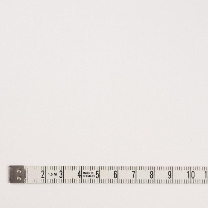 コットン&ポリウレタン×無地(ホワイト)×サテンストレッチ イメージ4
