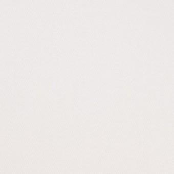 コットン&ポリウレタン×無地(ホワイト)×サテンストレッチ