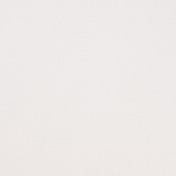 コットン&ポリウレタン×無地(ホワイト)×サテンストレッチ イメージ1