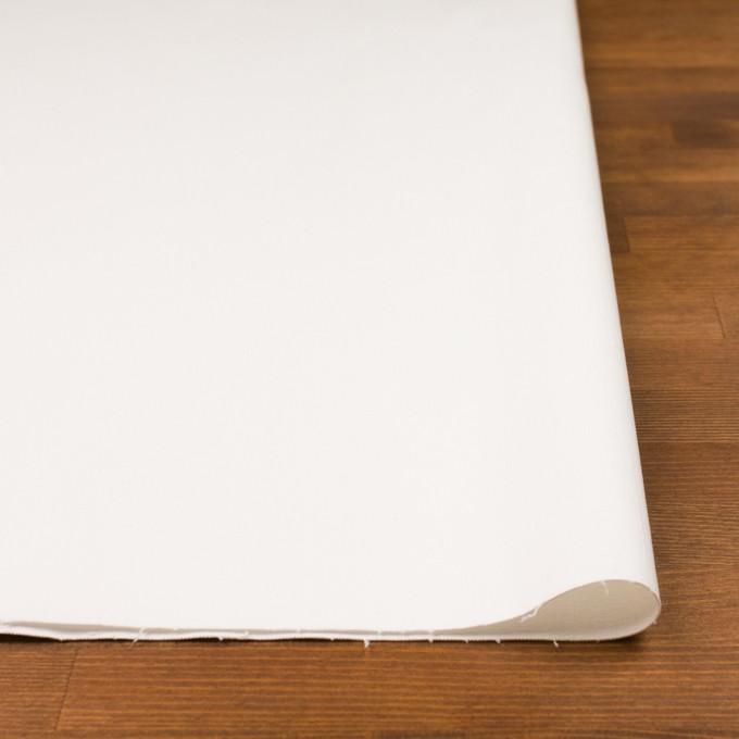 コットン&ポリウレタン×無地(オフホワイト)×チノクロス・ストレッチ イメージ3