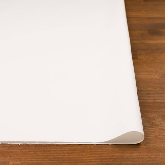 コットン&ポリウレタン×無地(オフホワイト)×チノクロス・ストレッチ_イタリア製 イメージ3