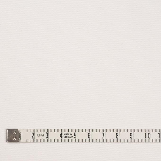 コットン&ポリウレタン×無地(オフホワイト)×チノクロス・ストレッチ_イタリア製 イメージ4