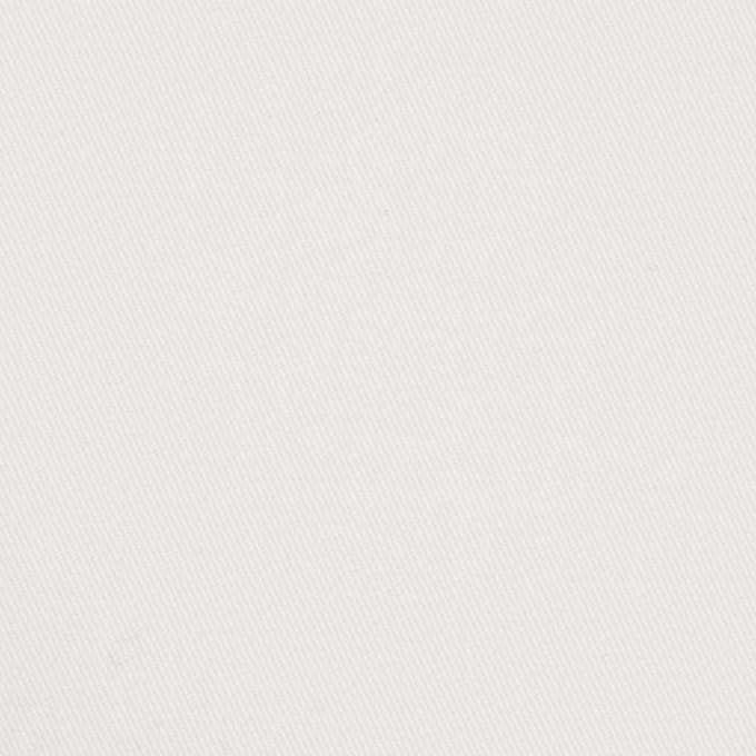 コットン&ポリウレタン×無地(オフホワイト)×チノクロス・ストレッチ_イタリア製 イメージ1