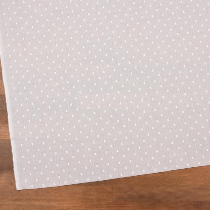 コットン×ドット(ホワイト)×ボイルカットジャガード_全6色 イメージ2