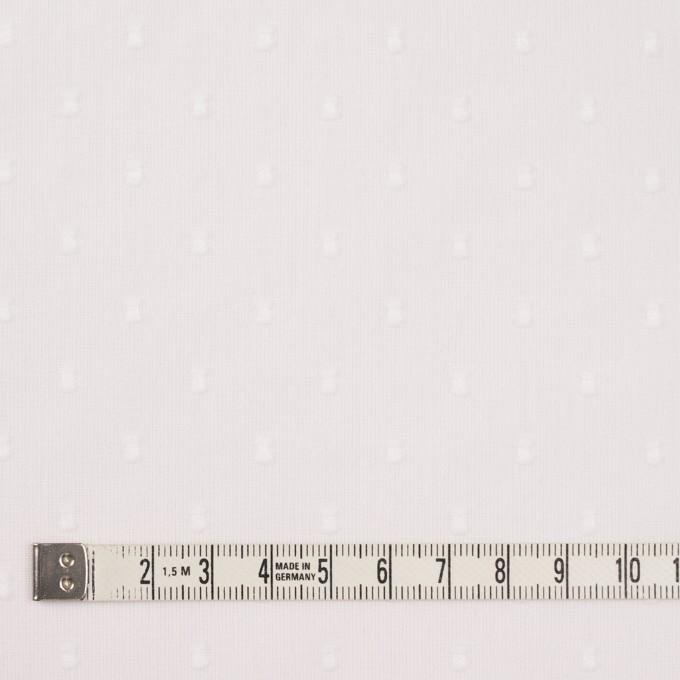 コットン×ドット(ホワイト)×ボイルカットジャガード_全6色 イメージ4