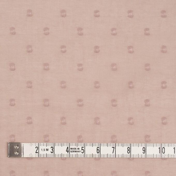 コットン×ドット(スモークピンク)×ボイルカットジャガード_全6色 イメージ4