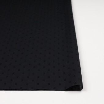 コットン×ドット(ブラック)×ボイルカットジャガード_全6色 サムネイル3
