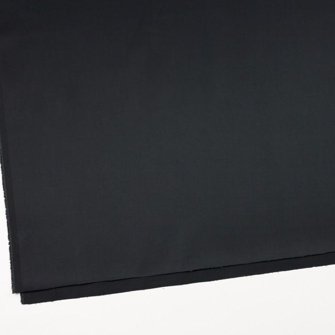 コットン&ポリウレタン×無地(チャコールブラック)×ギャバジンストレッチ イメージ2