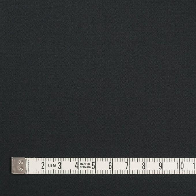 コットン&ポリウレタン×無地(チャコールブラック)×ギャバジンストレッチ イメージ4