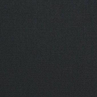 コットン&ポリウレタン×無地(チャコールブラック)×ギャバジンストレッチ