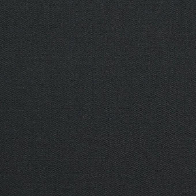 コットン&ポリウレタン×無地(チャコールブラック)×ギャバジンストレッチ イメージ1