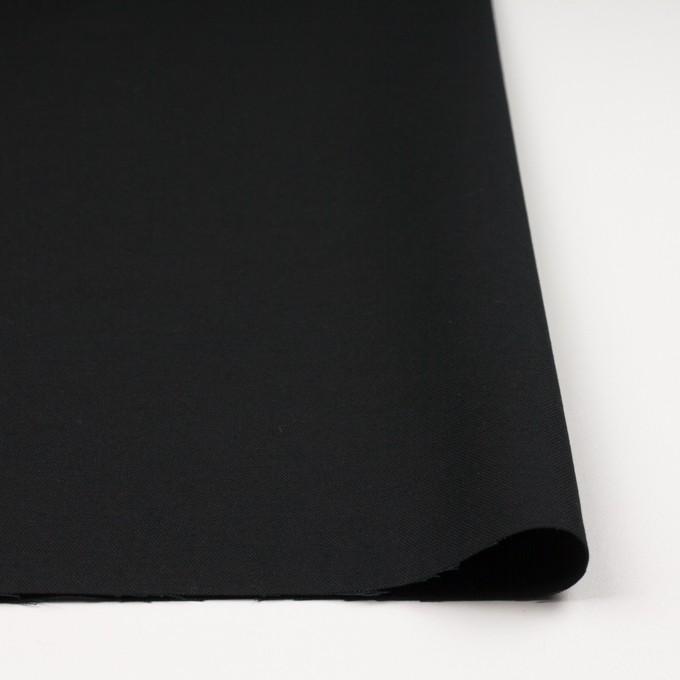 コットン×無地(ブラック)×厚オックスフォード イメージ3