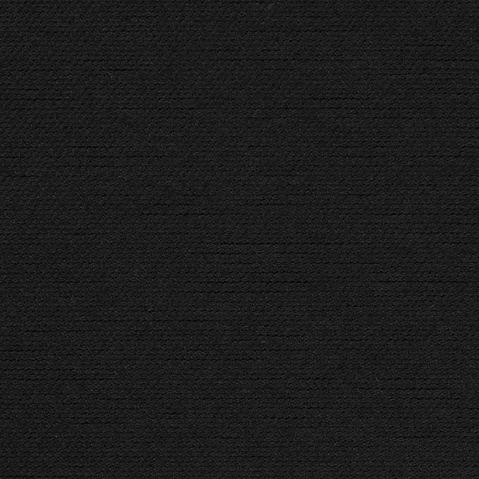 コットン×無地(ブラック)×厚オックスフォード イメージ1