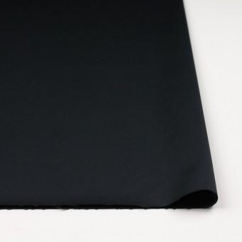 レーヨン&ポリエステル×無地(ブラック)×サテン_イタリア製 サムネイル3