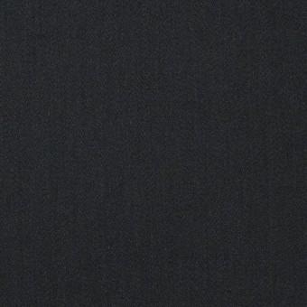 レーヨン&ポリエステル×無地(ブラック)×サテン_イタリア製 サムネイル1