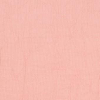 コットン×無地(ピーチ)×ボイルワッシャー_全8色 サムネイル1