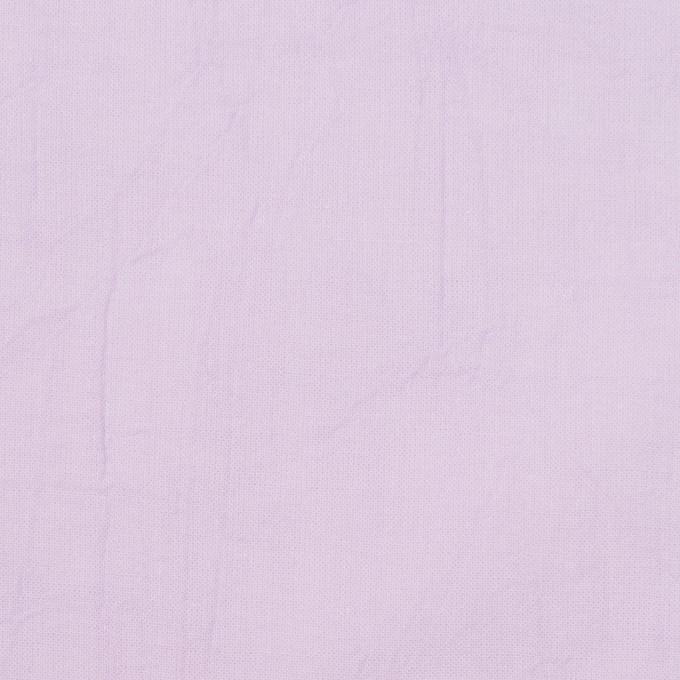 コットン×無地(ペールラベンダー)×ボイルワッシャー_全8色 イメージ1