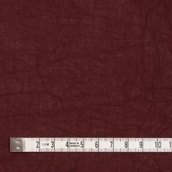 コットン×無地(エンジ)×ボイルワッシャー_全8色 サムネイル4
