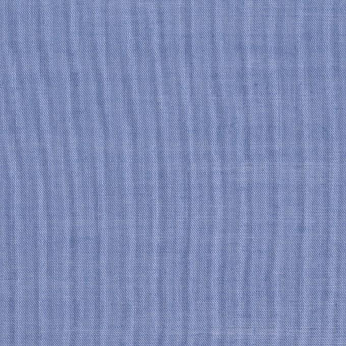 コットン&リネン×無地(ヒヤシンスブルー)×ローン_全4色 イメージ1
