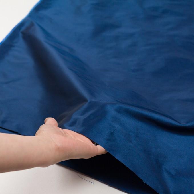 ポリエステル&アセテート×無地(ロイヤルブルー)×形状記憶シャンブレータフタ_全6色 イメージ5