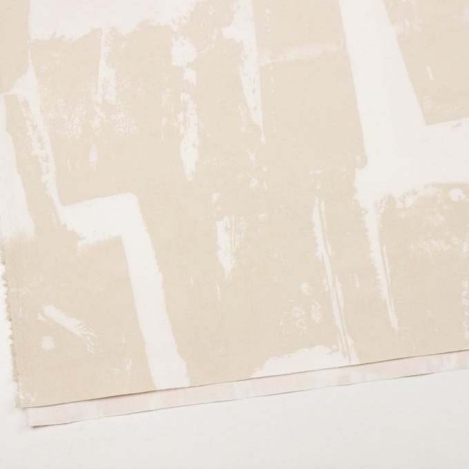 コットン&ポリウレタン×ペイント(キナリ)×ギャバジン・ストレッチ_イタリア製 イメージ2