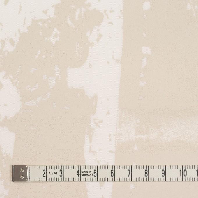 コットン&ポリウレタン×ペイント(キナリ)×ギャバジン・ストレッチ_イタリア製 イメージ4