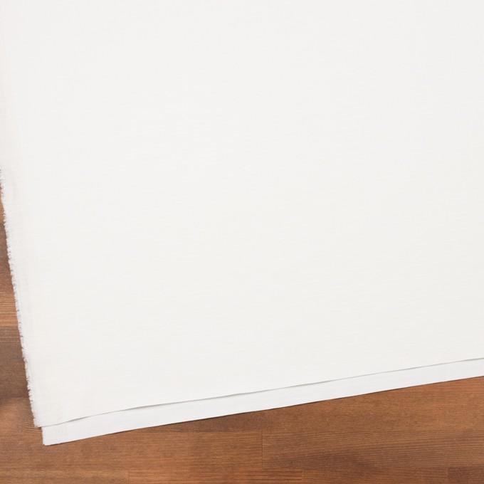 コットン×無地(オフホワイト)×かわり織_イタリア製 イメージ2