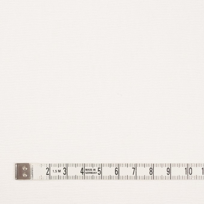 コットン&シルク×無地(オフホワイト)×かわり織_イタリア製 イメージ4