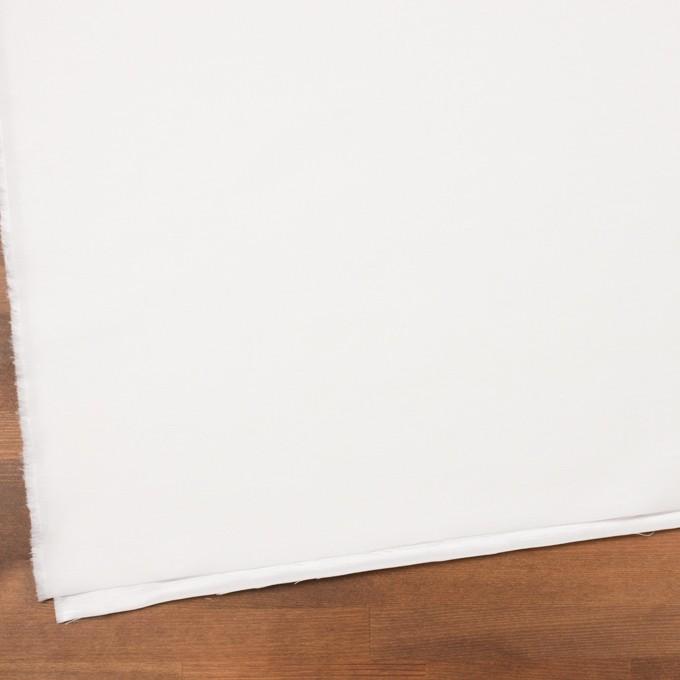 コットン&ナイロン×無地(オフホワイト)×バックサテンシャンタン_全2色_イタリア製 イメージ2