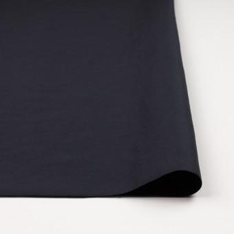 コットン&ナイロン×無地(アッシュネイビー)×バックサテンシャンタン_全2色_イタリア製 サムネイル3