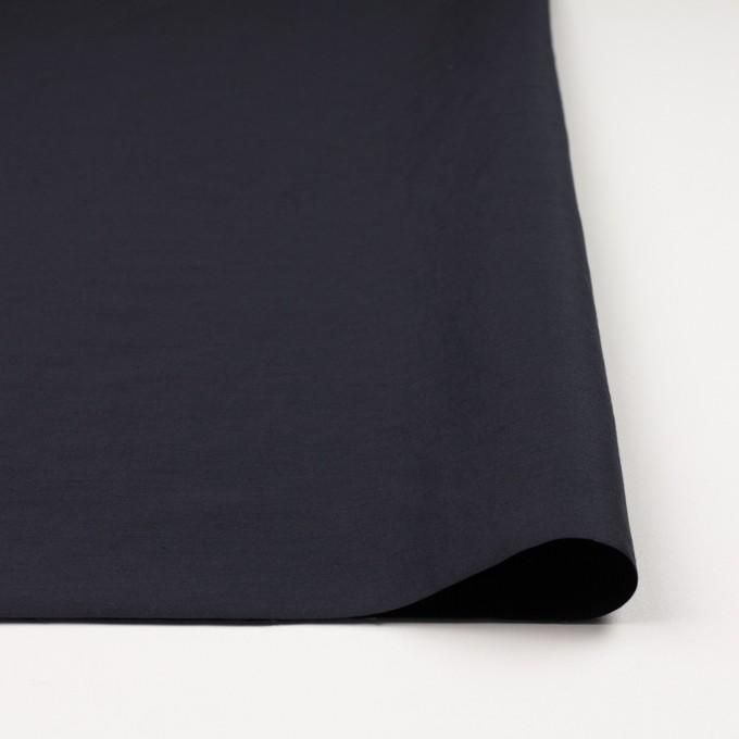 コットン&ナイロン×無地(アッシュネイビー)×バックサテンシャンタン_全2色_イタリア製 イメージ3
